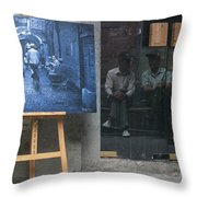 5712 - Tianzifang Throw Pillow