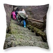 5778- Yellow Mountains Throw Pillow