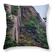 5782- Yellow Mountains Throw Pillow