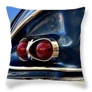 58 Bel Air Tail Light Throw Pillow