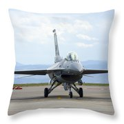 58 Throw Pillow