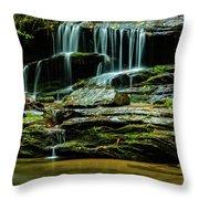 North Carolina Fall Colors Throw Pillow