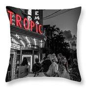 5828- Tropic Theater Throw Pillow