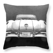 58vet Throw Pillow