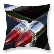 '59 Cadillac Throw Pillow