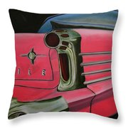 59 Olds Throw Pillow