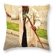 Traversing Santiago De Cuba, Cuba. Throw Pillow
