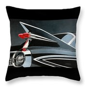 '59's Fleetwood Throw Pillow