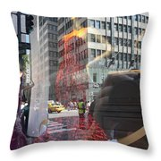 5th Avenue Throw Pillow