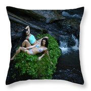 Sierra Mccallister  Throw Pillow