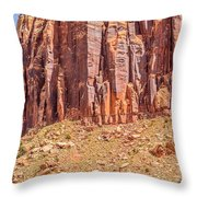 Views Of Canyonlands National Park Throw Pillow