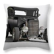 1932 Ford Tudor Sedan Throw Pillow