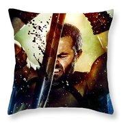 300 Rise Of An Empire 2014 Throw Pillow