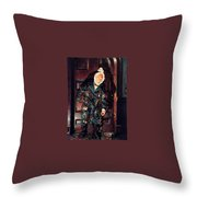 A Christmas Carol Dean Morrissey Throw Pillow