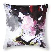 Abstract Figure Art Throw Pillow