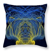 Abstract Graphics Throw Pillow