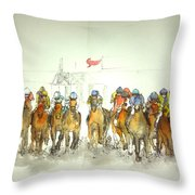 an American Pharoah born album Throw Pillow
