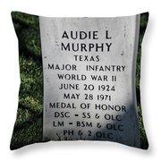Arlington Cemetery Washington Dc Usa Throw Pillow