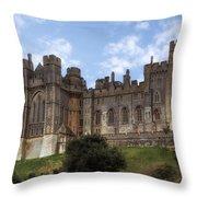Arundel Castle Throw Pillow
