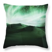 Aurora Borealis Throw Pillow