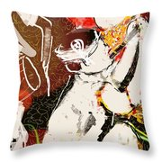 Bihu Dance Throw Pillow