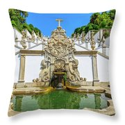 Bom Jesus Staircase Throw Pillow