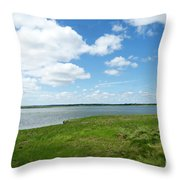 Cape Cod Salt Pond Throw Pillow