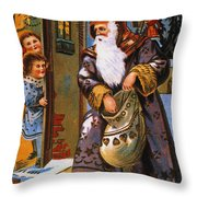 Christmas Card Throw Pillow