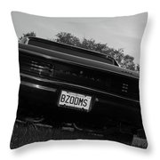 Classic Cars Throw Pillow