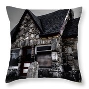 6 Corners Gas Station 2 Throw Pillow