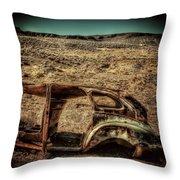 Derelict Transport Throw Pillow