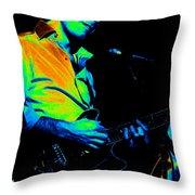 #6 Enhanced In Cosmicolors Throw Pillow