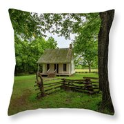 George Washington Carver National Monument Throw Pillow