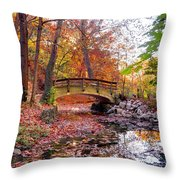 Glen Echo Park Throw Pillow