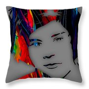 Harry Styles Collection Throw Pillow