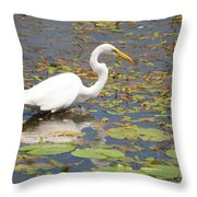 Knee Deep Throw Pillow