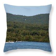 Lake George New York Throw Pillow