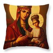 Madonna And Child Art Throw Pillow