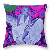 Marilyn Monroe Throw Pillow