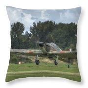 Mark 1 Hawker Hurricane Throw Pillow