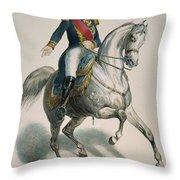 Napoleon IIi (1808-1873) Throw Pillow