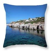 Pegeia - Cyprus Throw Pillow