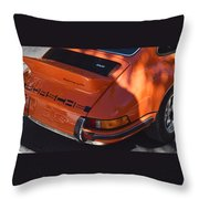Porsche Throw Pillow
