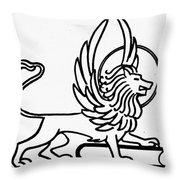Saint Mark Throw Pillow