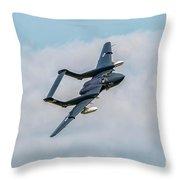 Sea Vixen Throw Pillow