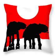 Star Wars At-at Collection Throw Pillow