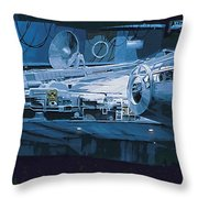 Star Wars Episode 6 Poster Throw Pillow