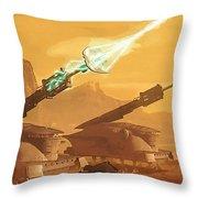 Star Wars Old Art Throw Pillow