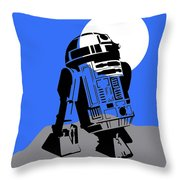 Star Wars R2-d2 Collection Throw Pillow