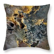 Strange Ground Throw Pillow
